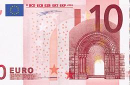 ЕЦБ запускает в наличный оборот новую купюру в 10 евро