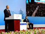 Путин в Пекине пообещал не ограничивать движение капитала и снова позвал инвесторов