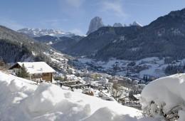 Итальянский горнолыжный курорт Валь Гардена