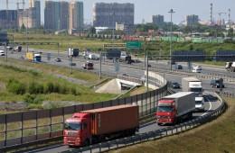 Минтранс предлагает снизить тариф за проезд большегрузов примерно до 3 рублей за 1 км