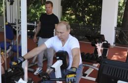Поставщики тренажеров монетизируют «тренировку президента»