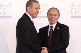 Запад обеспокоен дружбой Путина и Эрдогана