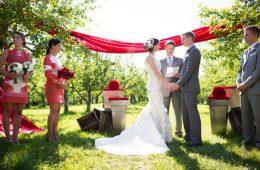 Свадьба на природе. Преимущества