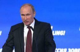 Путин нашел рецепт борьбы с санкциями