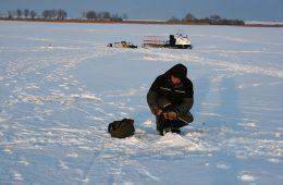 Зимой рыбалка в удовольствие