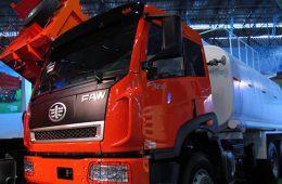 В Приморье планируют начать весной тестовую сборку китайских грузовиков FAW