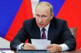 Путин: нужно создать условия, чтобы грузы шли через российские порты вместо зарубежных