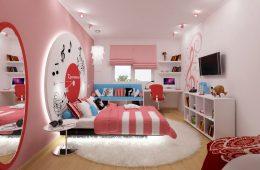 Оформляем комнату для девочки