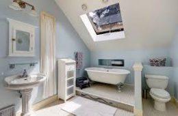 Интерьер в ванной в стиле «французского кантри»