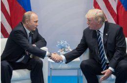 Кремль обьявил о встрече Путина и Трампа