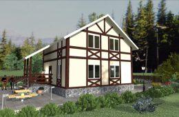 Быстровозводимые дома из экологичных панелей