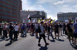 В Москве прошли два подряд митинга против «пенсионной реформы»