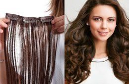Особенности и правила выбора волос на заколках и прочих накладных локонов