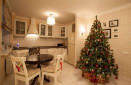 Аренда квартиры на новогодние праздники.