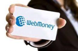 Как пополнить кошелёк WebMoney через терминал