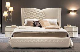 Особенности выбора кроватей с мягким изголовьем