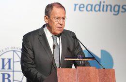 Лавров заявил о стремлении США разрушить режим контроля над вооружениями