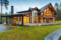 Строительство финских домов из бруса