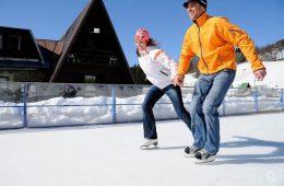 Как научится кататься на коньках?