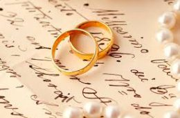 Выбор свадебного колечка