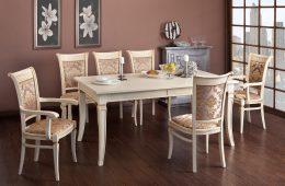 Столы и стулья в интерьере