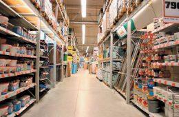 Торговые экспозиторы для строительных магазинов