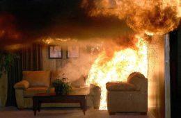 Пожарная безопасность. Правила поведения вовремя пожара в помещении