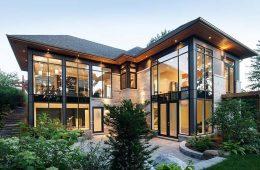 Панорамное остекление загородного дома: основные преимущества и недостатки.