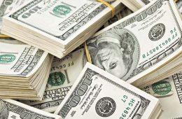 Россия увеличила вложения в американские госбумаги почти вдвое