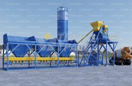 Бетонный завод TRUMIX-60