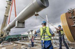 Строительство отрезка Nord Stream 2 в экономической зоне ФРГ завершено