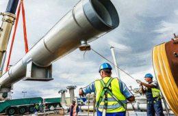 Завершение строительства двух ветвей «СП-2» ожидается к концу апреля