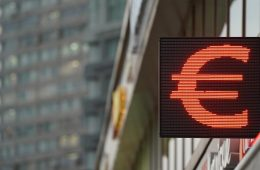Курс евро впервые с марта опустился до 88 рублей