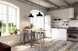 Лучшие варианты напольного покрытия для вашей кухни