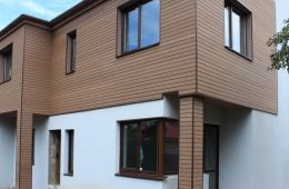 Фасадная доска из древесно-полимерного композита: преимущества, специфика монтажа и эксплуатации