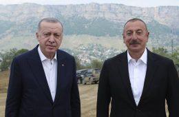 Алиев и Эрдоган ввели в действие Физулинский международный аэропорт в Карабахе